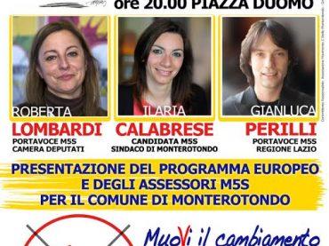"Monterotondo. M5S: ""#vinciamonoi tour"""