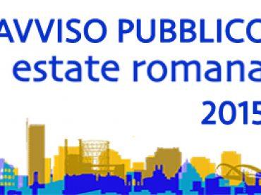 """""""Estate Romana"""", online il bando 2015"""