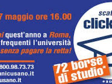 """27 Maggio: scatta il """"click day"""" per le Borse di studio"""