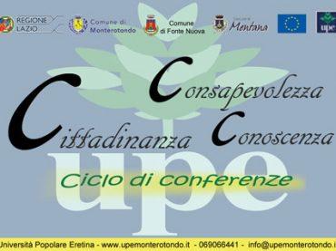 """Monterotondo. Conferenza """"Volontariato: Nuove strade per l'Italia"""""""