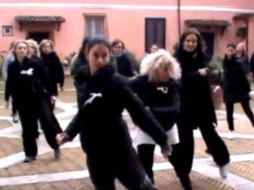 Mentana. Flashmob contro la violenza sulle donne