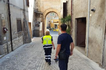 Terremoto: nessun danno alle abitazione del centro storico di Mentana