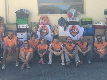 LAV Roma consegna gli aiuti raccolti per gli animali colpiti dal sisma