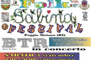 """Rieti. Le eccellenze sabine in mostra al """"Folk Sabina Festival"""" di Poggio Moiano"""