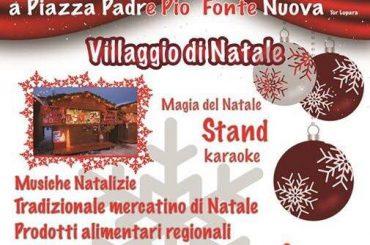 """Fonte Nuova. Evento """"Natale con noi"""""""