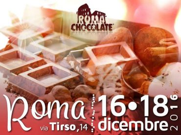 Romachocolate 2016, al via la festa del cioccolato della capitale