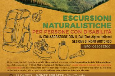 Escursioni naturalistiche per persone con disabilità