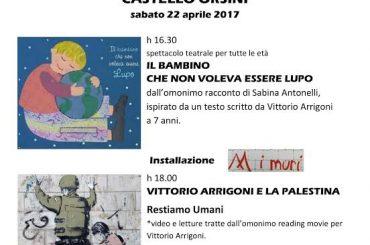 Castel Madama. Sesto anniversario della morte di Vittorio Arrigoni: le iniziative