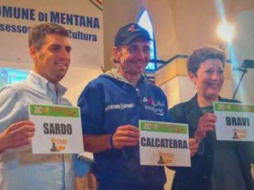 """Mentana. """"Correre è la mia vita"""": l'ultramaratoneta Giorgio Calcaterra ha presentato il suo libro"""