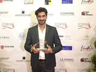 """Formia Film Festival. Alessandro Parrello, protagonista de """"Il lupo del Pollino"""" vince come miglior attore"""