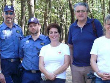 Mentana. Pulizia volontaria del bosco di Gattaceca