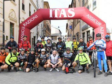 Rieti. Strada e mountain bike: bilancio positivo per la Randonnèe del Cammino di Francesco