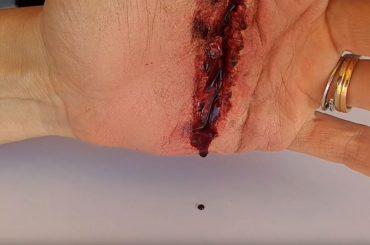 #2 Tutorial per Halloween: ferita da taglio