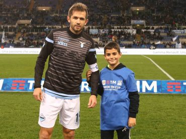 (Gallery) La Junior TIM Cup in campo all'Olimpico nel pre-gara di Lazio e Fiorentina