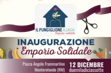 Monterotondo. Inaugurazione Emporio Solidale il 12 dicembre
