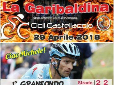 Mentana. Garibaldina e Granfondo Michele Scarponi: la novità combinata per l'edizione 2018