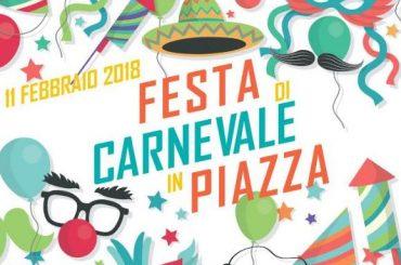 Monterotondo. Festa di Carnevale in piazza