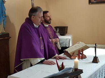 Guidonia. Dopo 10 anni ha riaperto la cappella del CAR con la Santa Messa di Pasqua per gli operatori