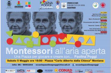 """Mentana. Terza edizione di """"Montessori all'aria aperta"""""""