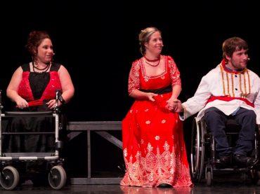 """L'Accademia """"L'arte nel Cuore"""" approda all'Olimpico con lo spettacolo """"Romeo e Giulietta"""", interpretato dagli allievi normodotati e diversamente abili"""