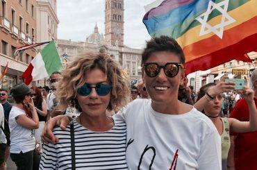 Eva Grimaldi e Imma Battaglia presto spose. Alla guida c'è Enzo Miccio