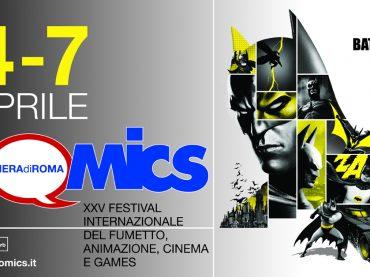XXV edizione di Romics: dal 4 al 7 aprile tutto il meglio di fumetto, animazione, games, cinema ed entertainment