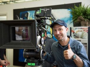 """Max Nardari tra cinema e Festival: in uscita il nuovo film """"Di tutti i colori"""" e al timone del Film Festival Sabaudia Studios 2019"""