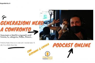 Podcast. Preferito Radio Show 20 Ottobre 2020: chiacchiere nerd tra videogiochi, cinema, tv e bradipi!