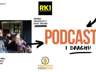 Podcast. Preferito Radio Show 13 Ottobre 2020: si parla di draghi con Sabrina Amato!